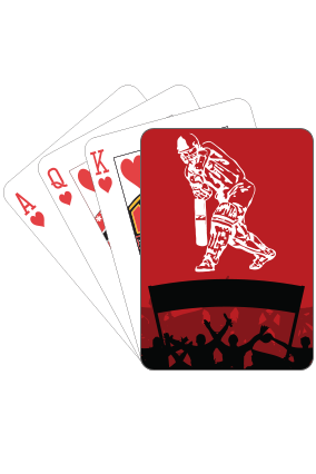 Cricket Star Playing Cards