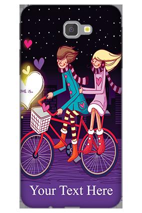 3D - Samsung Galaxy J7 Prime Ride Valentine's Day Mobile Cover