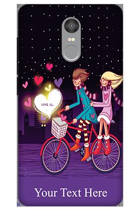 3D - Xiaomi Redmi Note 4 Ride Valentine's Day Mobile Cover