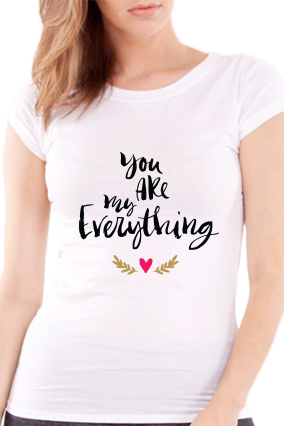 All you need is love Valentine Day Girls White T-Shirt