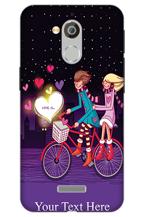 3D - Coolpad Note 5 Ride Valentine's Day Mobile Cover