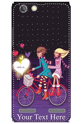 3D - Lenovo Vibe K5 Plus Ride Valentine's Day Mobile Cover