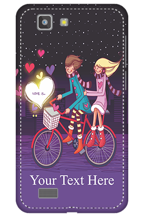 Personalised 3D-Vivo X3S Ride Valentine's Day Mobile Cover