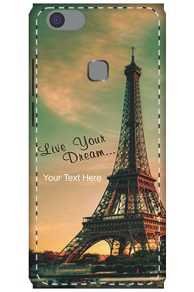 3D - Vivo V7 Plus Tower Image Mobile Cover