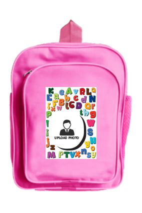 Alphabet School Bag