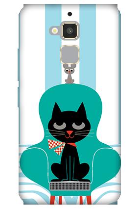 Asus Zenfone 3 Max Cat Mobile Cover