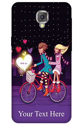 3D - OnePlus 3T Ride Valentine's Day Mobile Cover