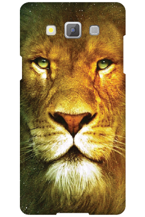 Personalised Samsung Galaxy A5 2015 Lion Face Mobile Cover