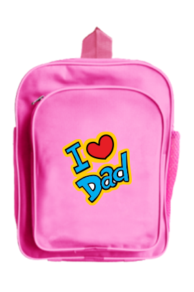 Dad Love School Bag