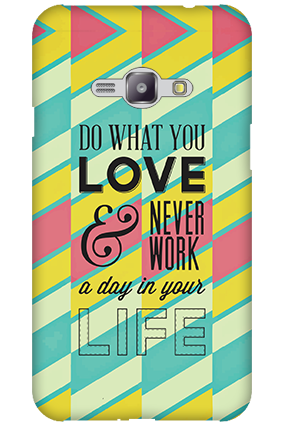 Silicon - Samsung Galaxy J1 Ace Do What You Love Mobile Cover
