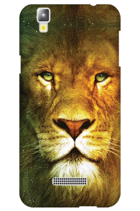 Silicon - Micromax Yu Yureka Plus Lion Face Mobile Cover