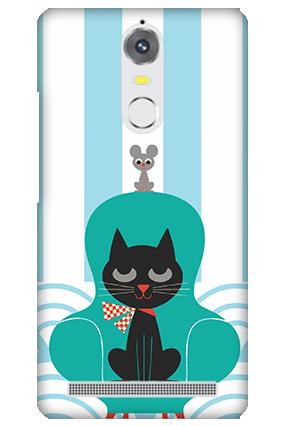 Lenovo K5 Note Cat Mobile Cover