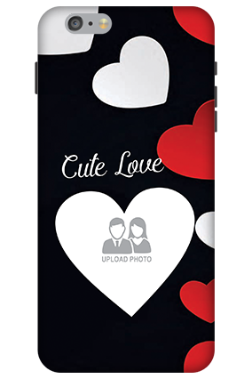 3D - Apple iPhone 6 Plus Cute Love Mobile Cover