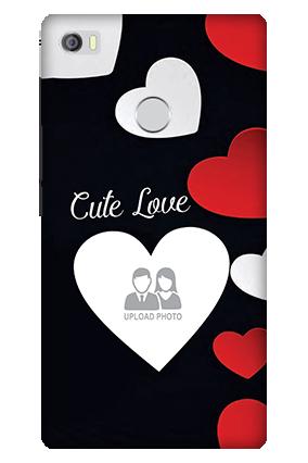 3D - Xiaomi Mi Max Cute Love Mobile Cover