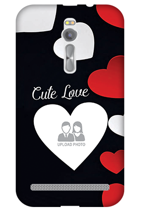3D - Asus ZenFone 2 Cute Love Mobile Cover