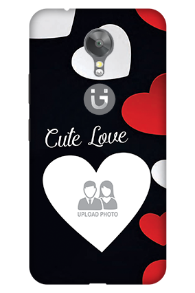3D - Gionee A1 Cute Love Mobile Cover