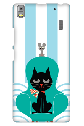 Lenovo K3 Note Cat and Mouse Cover