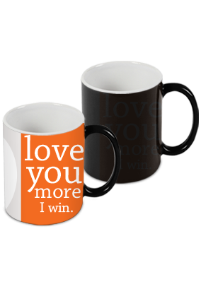 I Win Black Magic Mug