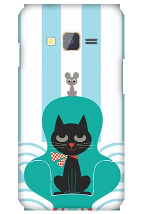 Samsung Z1 Cat Mobile Cover