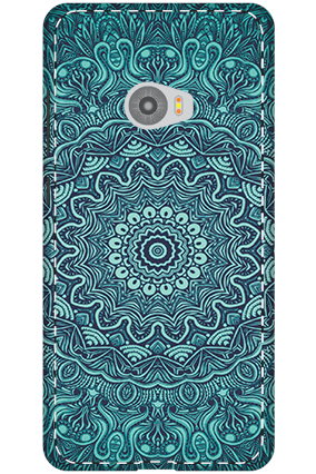 3D-Xiaomi Mi Note 2 Blue Pattern Mobile Cover