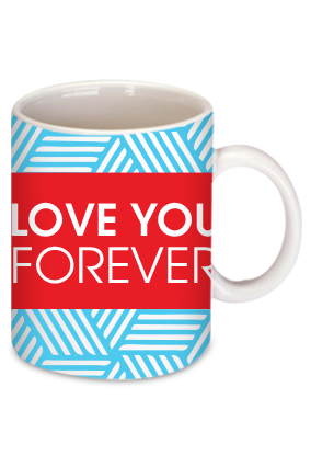 Amazing Love You Forever Personalized  Mug