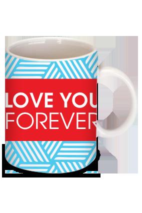 Amazing Love You Forever Personalized  Mug