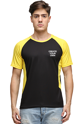 Effit Create Your Own Black and Yellow T-Shirt