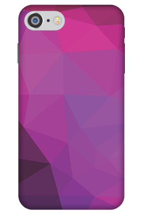 3D IPhone 7 Purple Mobile Cover