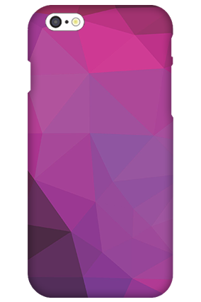 3D IPhone 6  Purple Mobile Cover