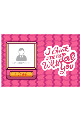 In Love With You Valentine Landscape Poster