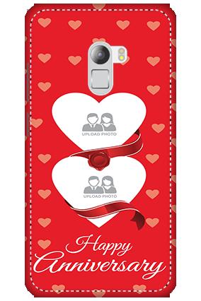 3D - Lenovo K4 Note Love & Heart Anniversary Mobile Cover