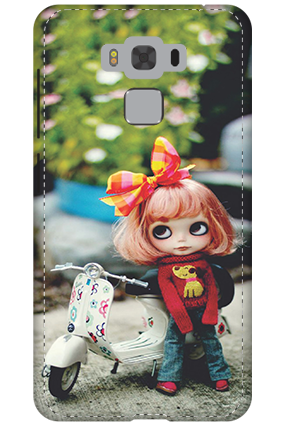 3D - Asus Zenfone 3 Max ZC553KL Cute Doll Mobile Cover