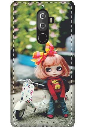 3D - Lenovo K8 Note Cute Doll Mobile Cover