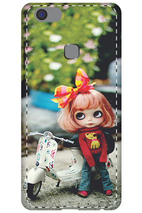 3D - Vivo V7 Plus Cute Doll Mobile Cover