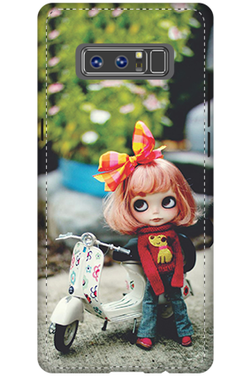 3D - Samsung Galaxy Note 8 Cute Doll Mobile Cover