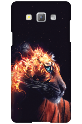 Amazing Samsung Galaxy A5 2015 Fired Tiger Mobile Cover