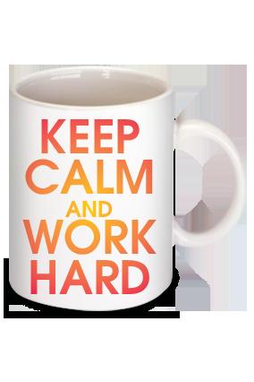 Awesome Keep Calm Personalized  Mug