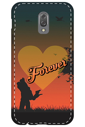 3D - Infinix Hot 4 Love Forever Mobile Cover