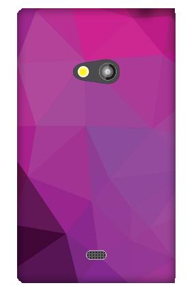Lumia 625   Purple Mobile Cover
