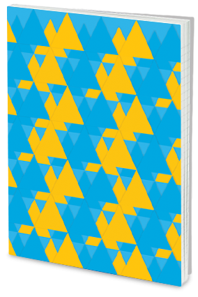 Customized Effit Geometrical Pattern Notebook