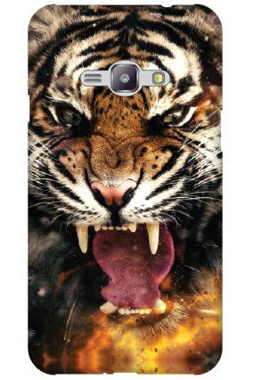 Silicon - Samsung Galaxy J1 Ace Big Roar Mobile Cover