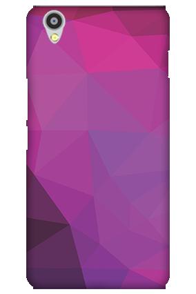 Oneplus X Purple Mobile Cover