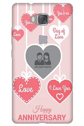 Amazing Huawei Honor 5X Love Dove Anniversary Mobile Cover