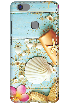 3D - Vivo V7 Plus Crystal Looking Mobile Cover