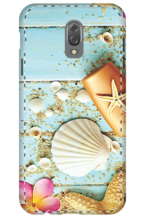 3D - Infinix Hot 4 Crystal Looking Mobile Cover