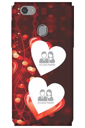3D - Oppo F7 Heart Beats Mobile Cover