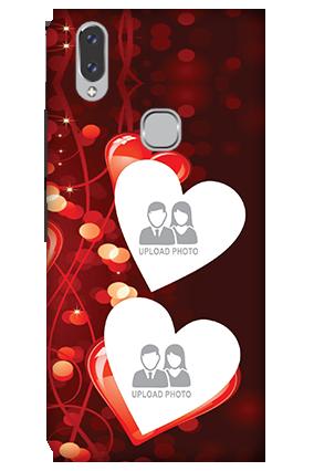 3D - Vivo V9 Heart Beats Mobile Cover