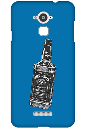 Custom Silicon - Coolpad Note 3 Jack Daniels Mobile Cover