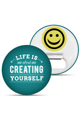 Creating Yourself Magnet