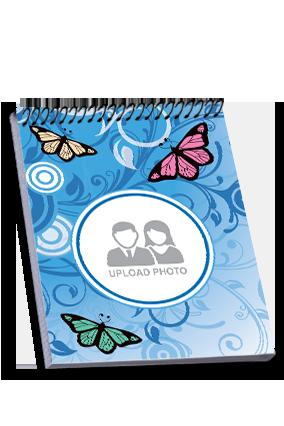 Elegant Top Spiral Notebook
